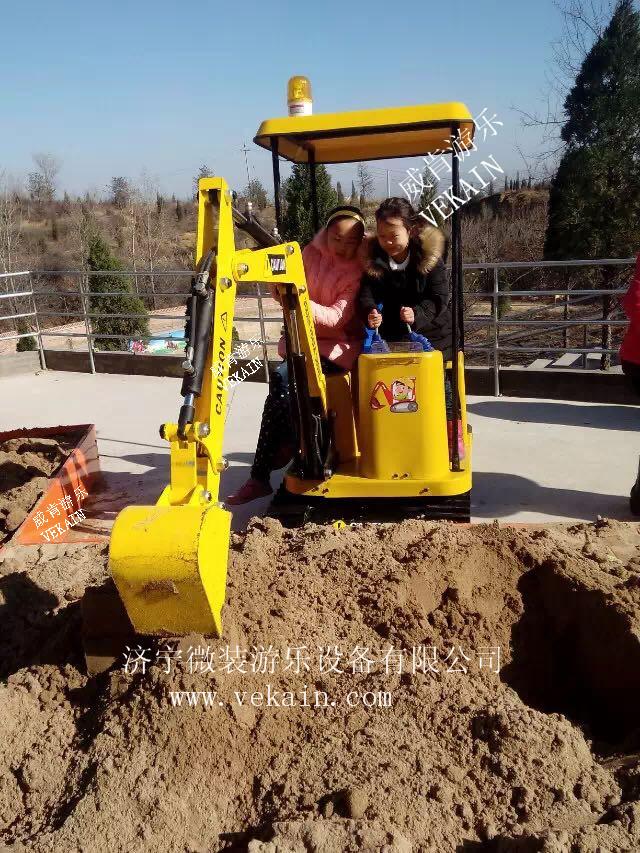 儿童玩具挖掘机
